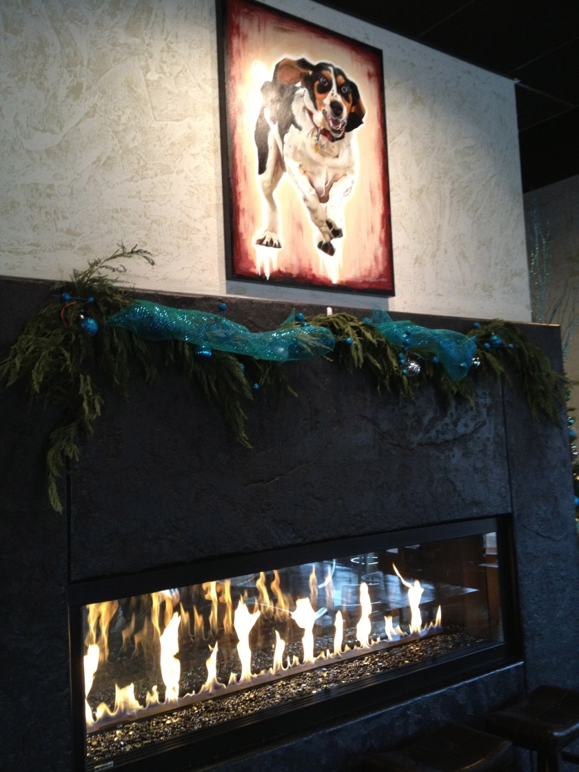 Fireplace at Faster Basset