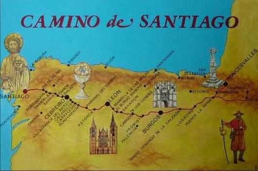 CAMINO DE SANTIAGO MAPA5
